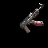 Battle-Scarred AKS47
