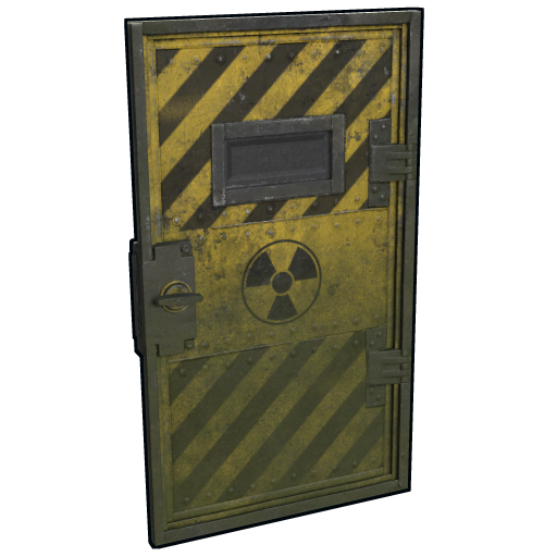 Radioactive Armored Door as seen on a Steam Market