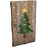Christmas Tree Door