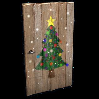 Christmas Tree Door