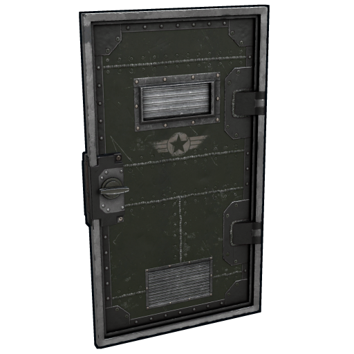 Military Armored Door as seen on a Steam Market
