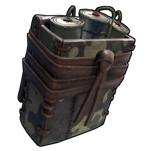 Military Satchel Charge as seen on a Steam Market