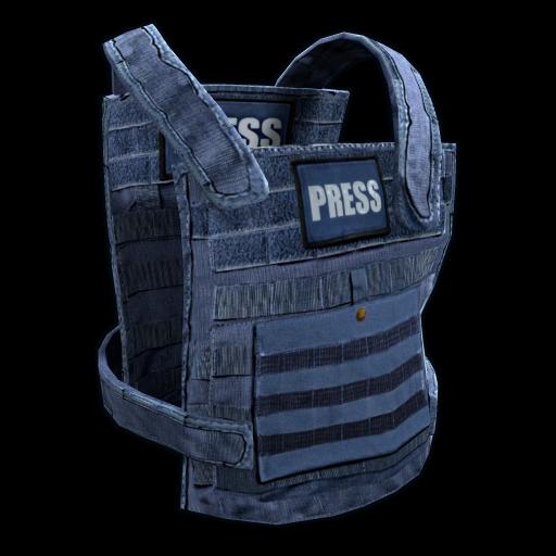 Press Vest as seen on a Steam Market