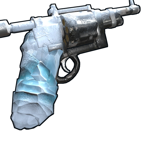 Frostbitten Revolver as seen on a Steam Market