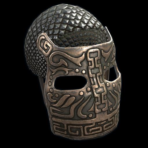 Bronze War Mask as seen on a Steam Market