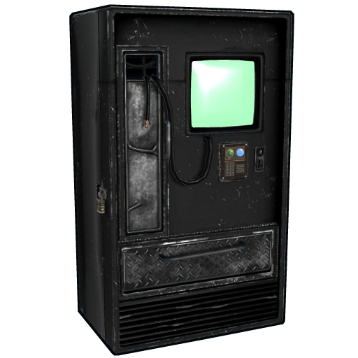 Rox Black Vending Machine as seen on a Steam Market