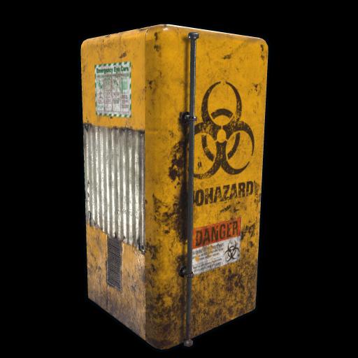 Biohazard Fridge as seen on a Steam Market