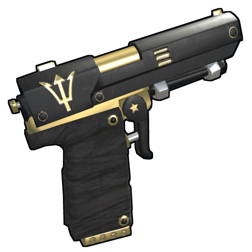 Poseidon Semi Auto Pistol as seen on a Steam Market