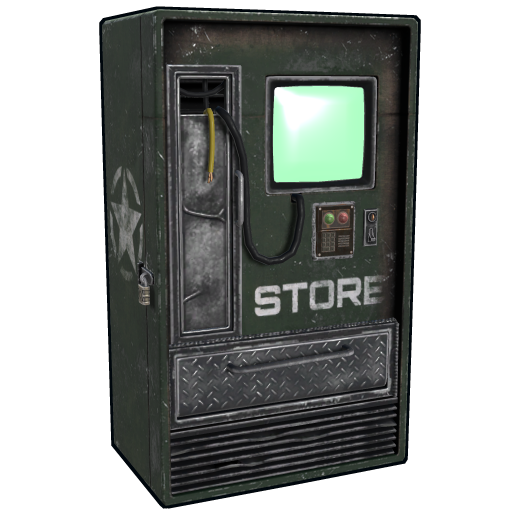 Army Vending Machine as seen on a Steam Market