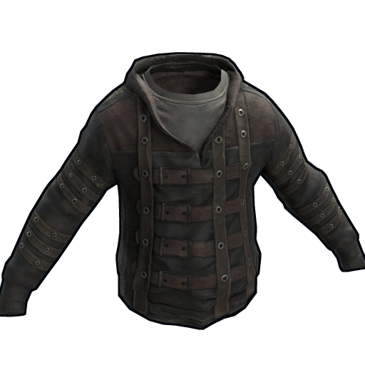 Leather Strapped Hoodie as seen on a Steam Market