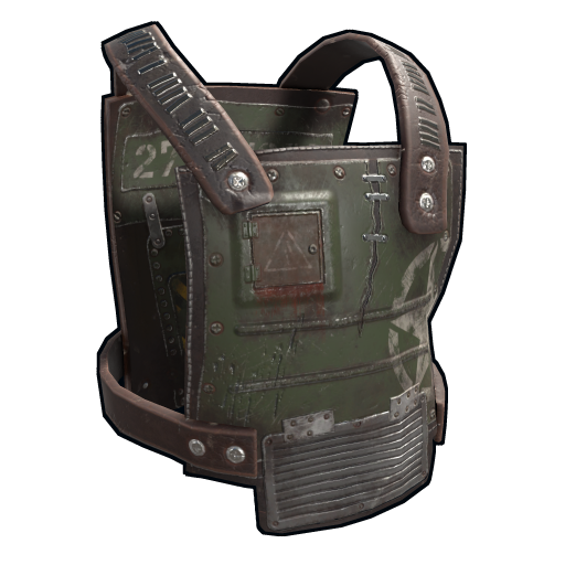 Salvaged Plating Armor as seen on a Steam Market