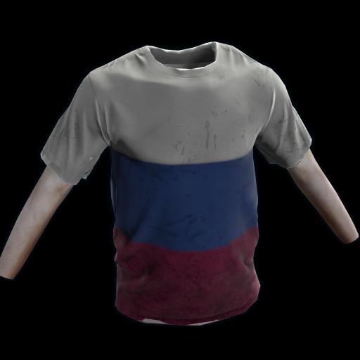 Russia Tshirt as seen on a Steam Market