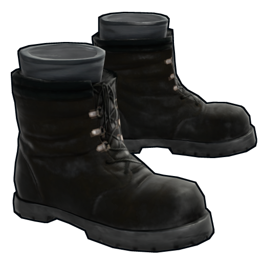 Black Boots as seen on a Steam Market