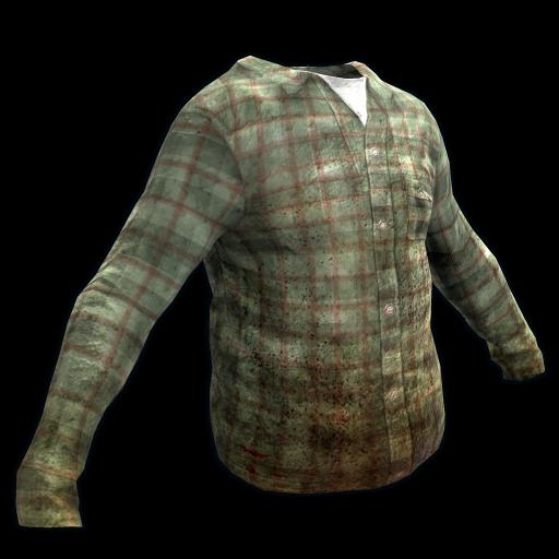 Green Checkered Shirt as seen on a Steam Market