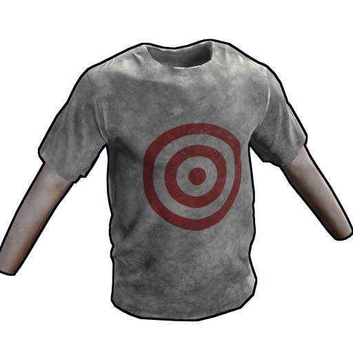 Target Practice T-Shirt as seen on a Steam Market