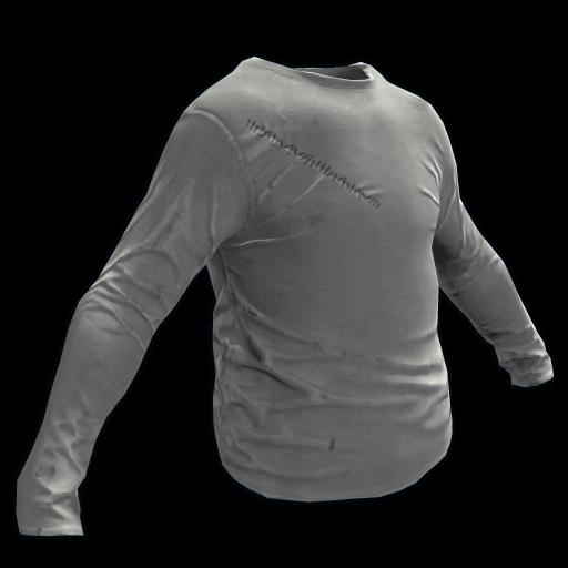 Grey Longsleeve T-Shirt as seen on a Steam Market
