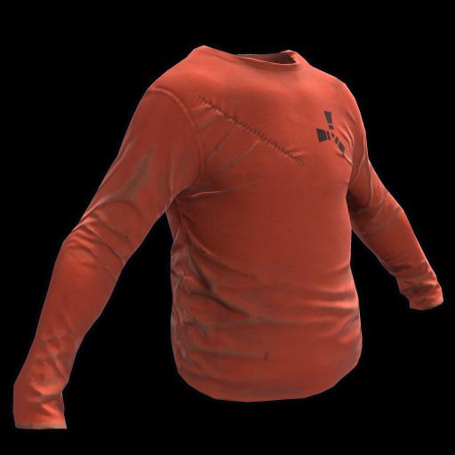Orange Longsleeve T-Shirt as seen on a Steam Market