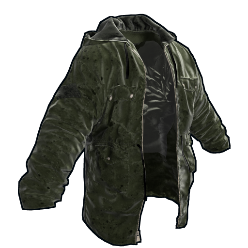 Green Jacket as seen on a Steam Market