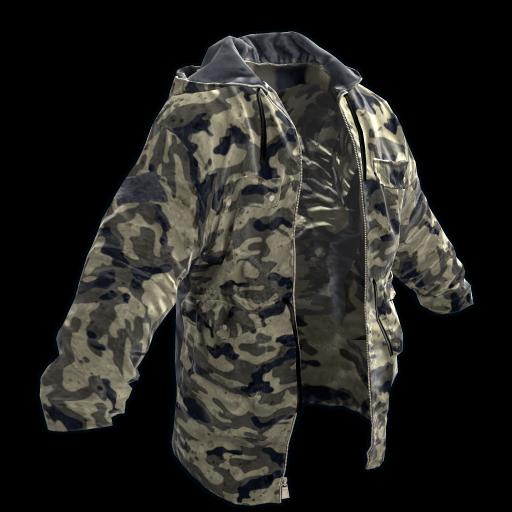 Urban Camo Jacket as seen on a Steam Market