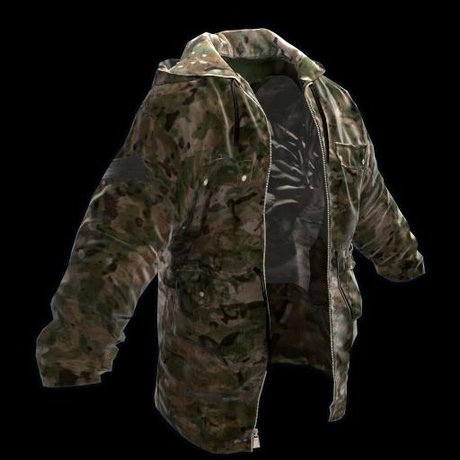 Multicam Jacket as seen on a Steam Market