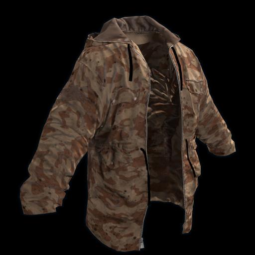 Desert Jacket as seen on a Steam Market