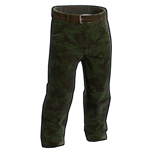 Forest Camo Pants as seen on a Steam Market