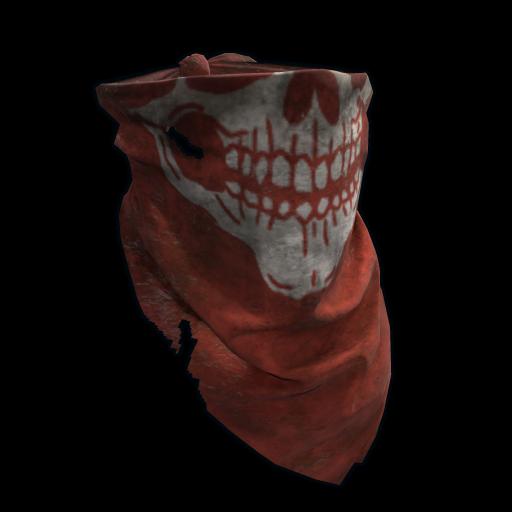 Red Skull Bandana as seen on a Steam Market