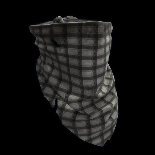Checkered Bandana as seen on a Steam Market
