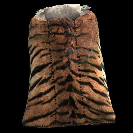 Tiger Crown Sleeping Bag as seen on a Steam Market