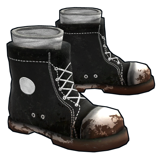 Scavenged Sneaker Boots as seen on a Steam Market