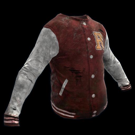 Varsity Jacket as seen on a Steam Market
