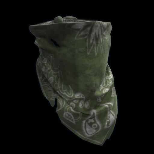 Green Bandana as seen on a Steam Market