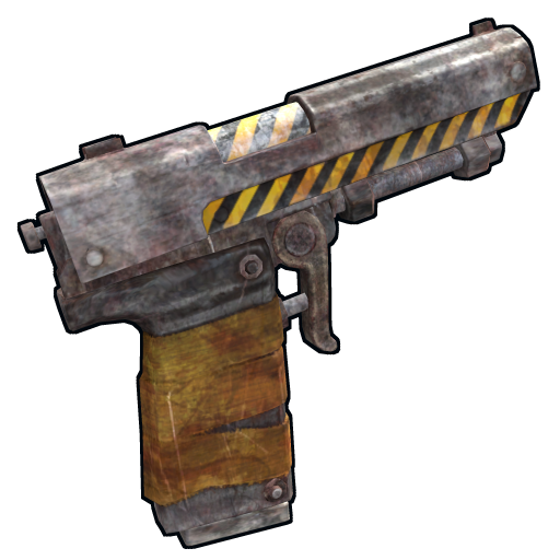 Contamination Pistol as seen on a Steam Market