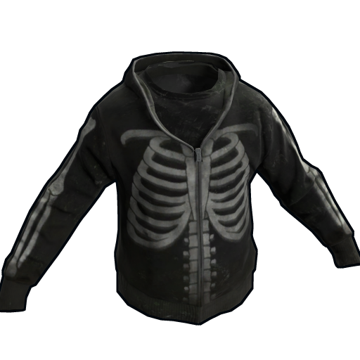 Skeleton Hoodie as seen on a Steam Market