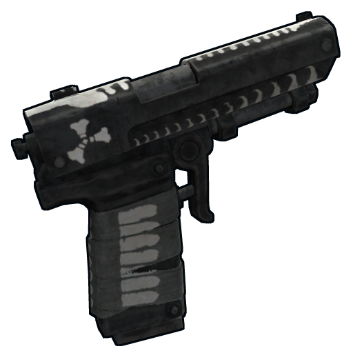 Reaper Note Pistol as seen on a Steam Market