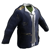 Salvaged Shirt, Coat and Tie