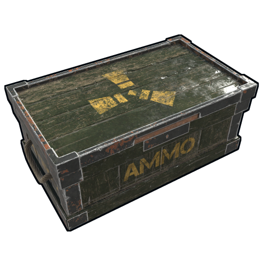 Ammo Wooden Box as seen on a Steam Market