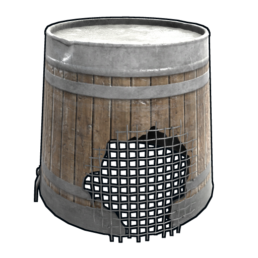 Wooden Bucket as seen on a Steam Market