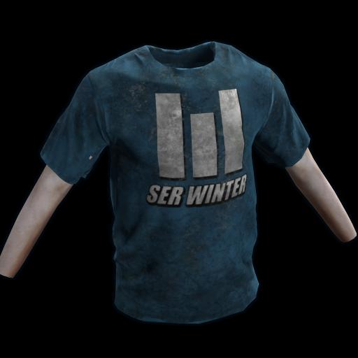 Ser Winter TShirt as seen on a Steam Market