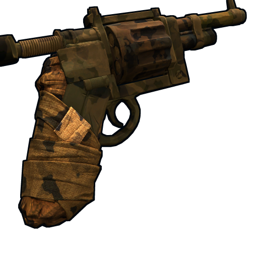 Outback revolver as seen on a Steam Market
