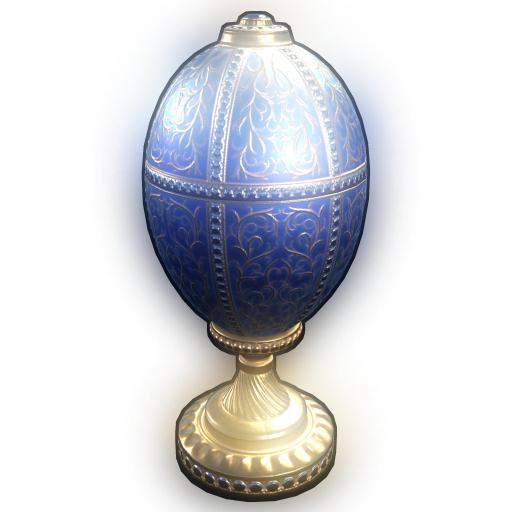 Rustigé Egg - Blue as seen on a Steam Market