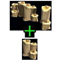Large Candle Set