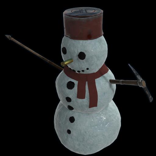 Snowman as seen on a Steam Market