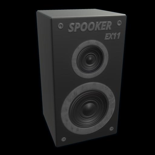 Spooky Speaker as seen on a Steam Market