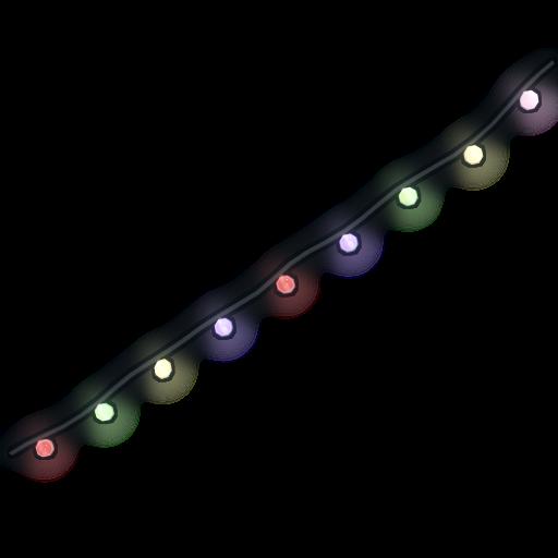 Christmas Lights as seen on a Steam Market