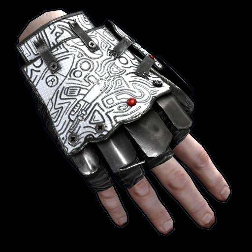 Doodle Roadsign Gloves
