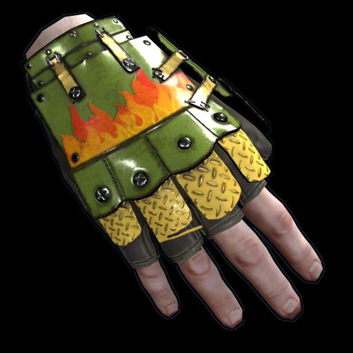 Bombshell Roadsign Gloves