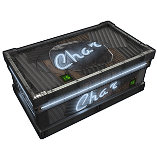 Neon Charcoal Storage
