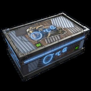 Neon Ore Storage