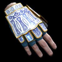 Porcelain Roadsign Gloves